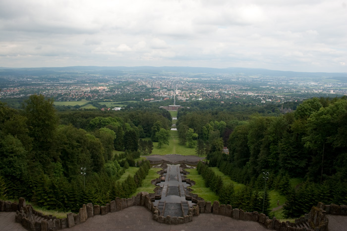 Kassel from the Herkules Monument