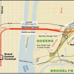 East Side Access map