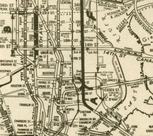 1951 plans for the Second Ave subway and connection to Brooklyn