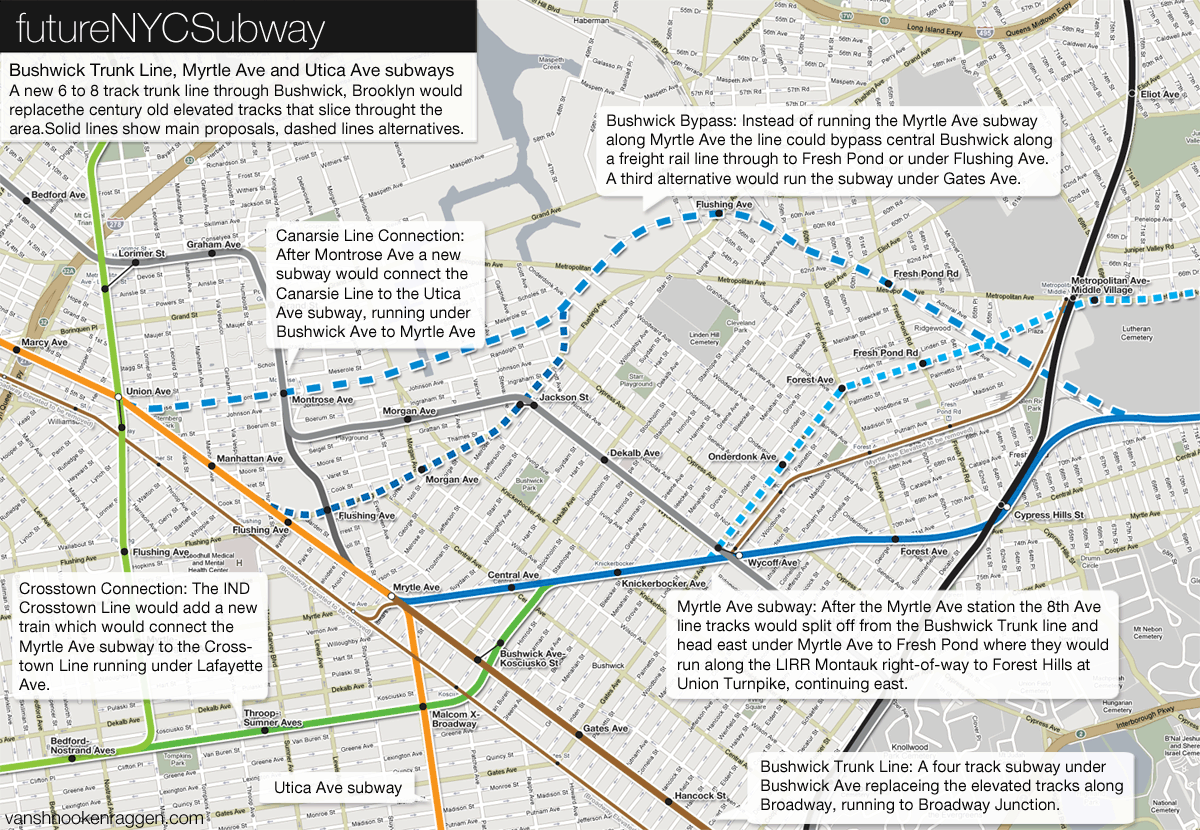 The futureNYCSubway: Bushwick Trunk Line – vanshnookenraggen
