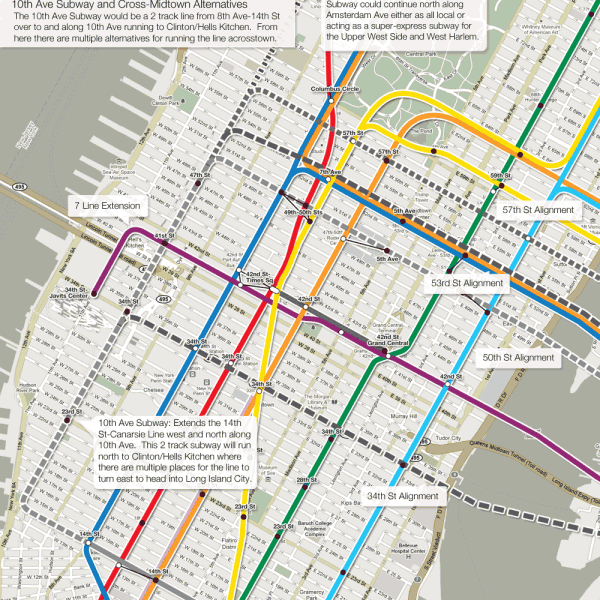 The futureNYCSubway: Manhattan's West Side