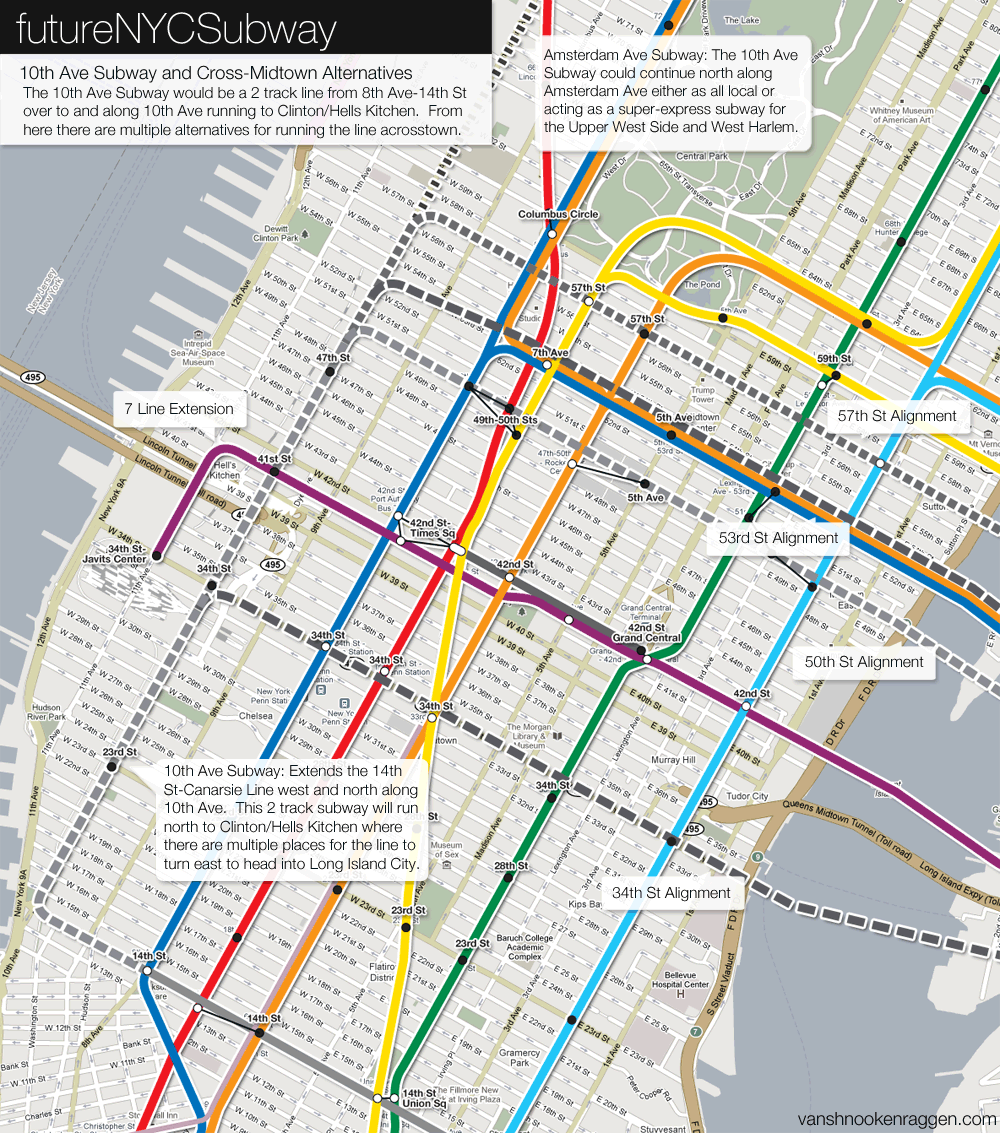 Ny Subway Map 7 Train.The Futurenycsubway Manhattan S West Side Vanshnookenraggen