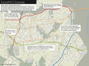 Subways and other transit options in Staten Island