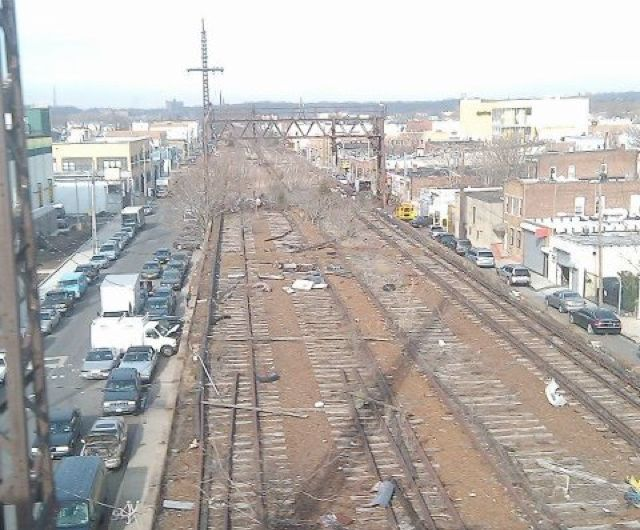 LIRR Rockaway Branch today via Friends of the QueensWay