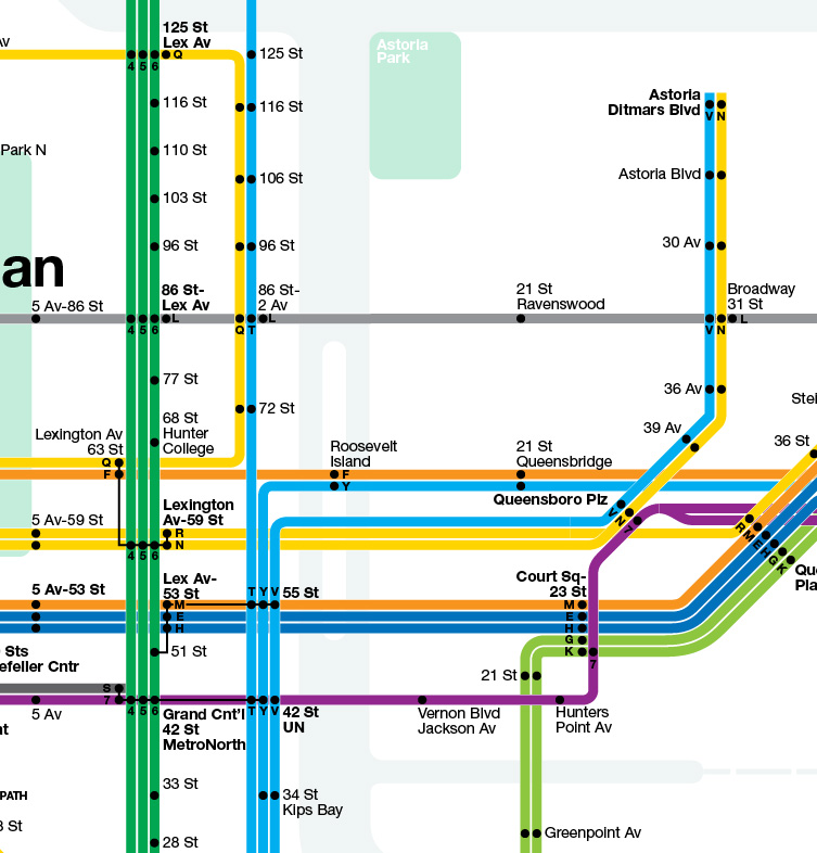 Nyc Simple Subway Map.A History Of Future Subway Systems Second Ave Sagas Second Ave