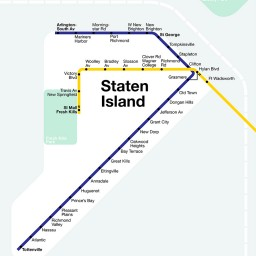 N Train Extension to Staten Island