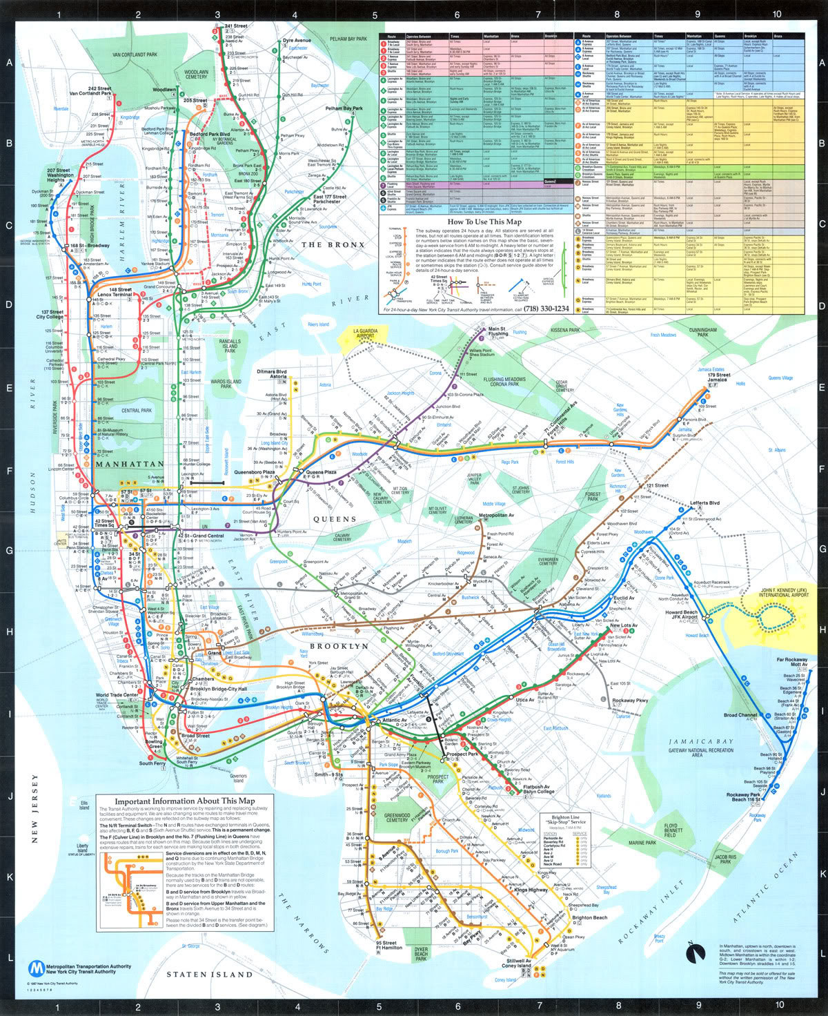 Mta Subway Map In 1990.Why Cuomo S Airtrain Route Will Work Vanshnookenraggen