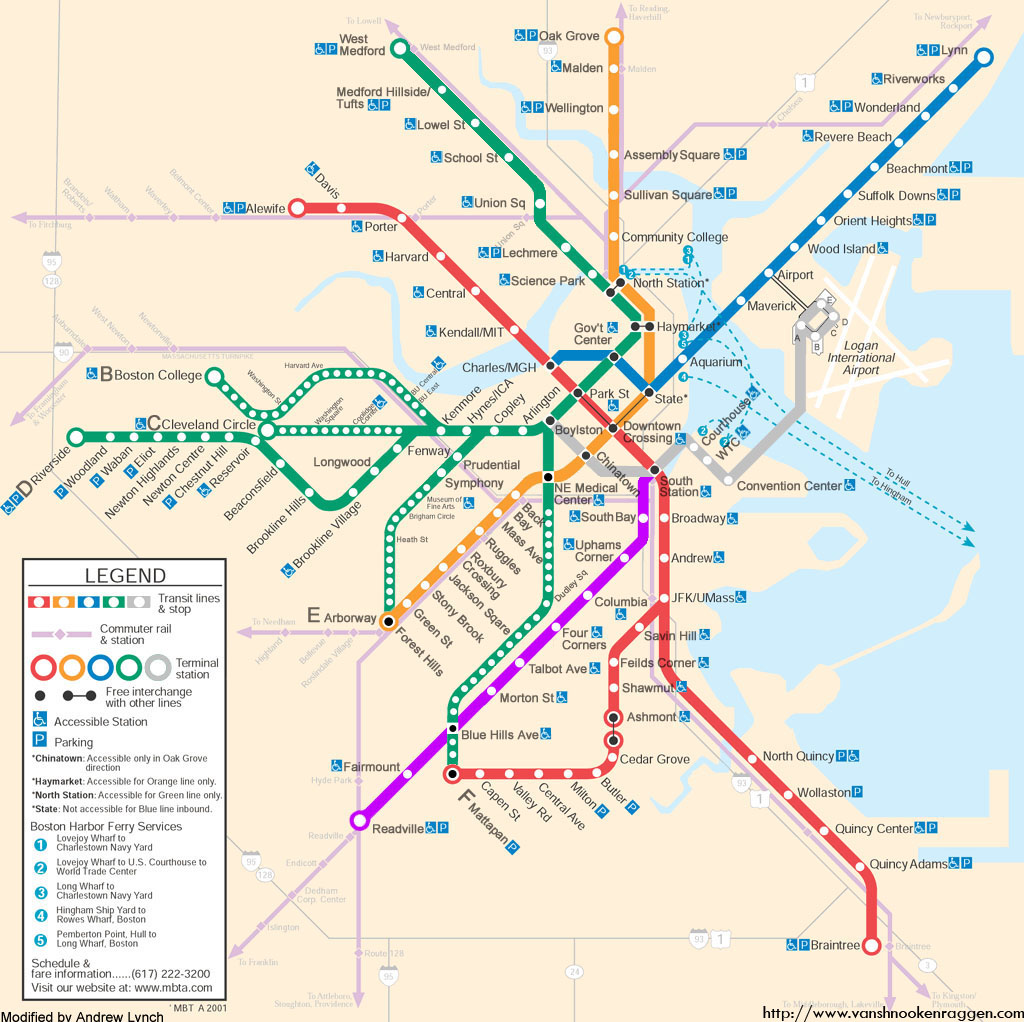 ... a MBTA future system map ...