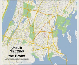 Unbuilt Highways of the Bronx