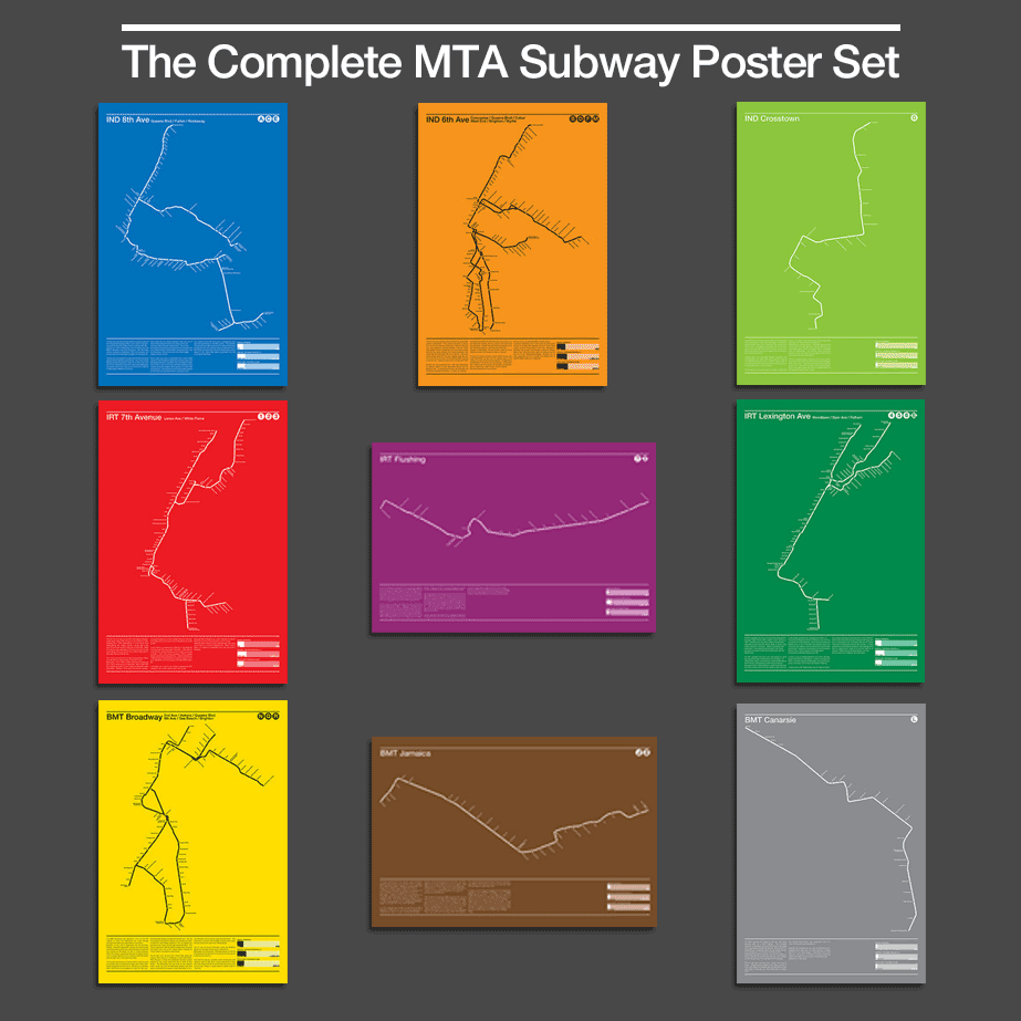 The Complete MTA Subway Poster Collection