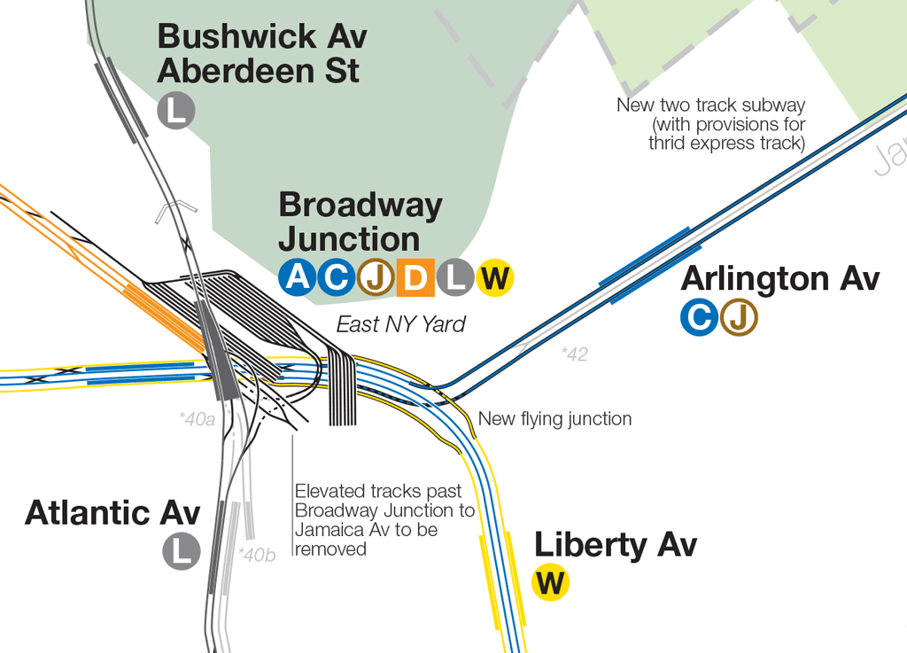 Broadway Subway Map.The Future Of The 2nd Avenue Subway Vanshnookenraggen