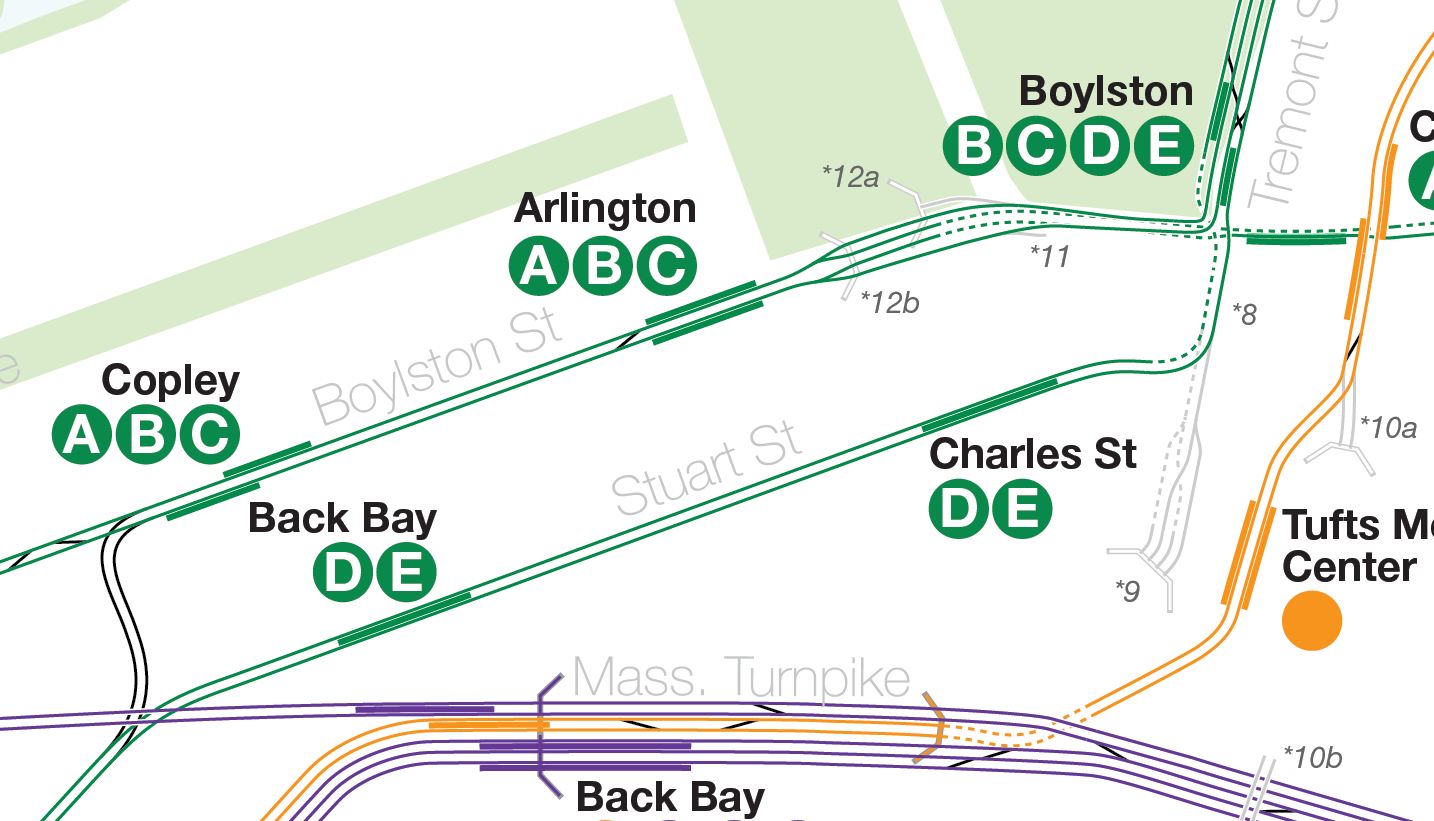 Boston Subway Map Harvard Square.The Future Of The Green Line From Harvard And Needham To The
