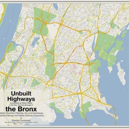 Unbuilt Highways of the Bronx
