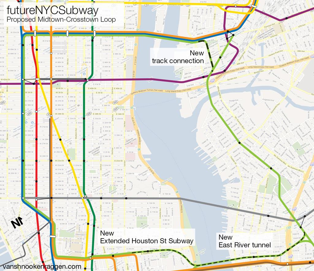 G Train Map The futureNYCSubway: Manhattan bound G Train – vanshnookenraggen